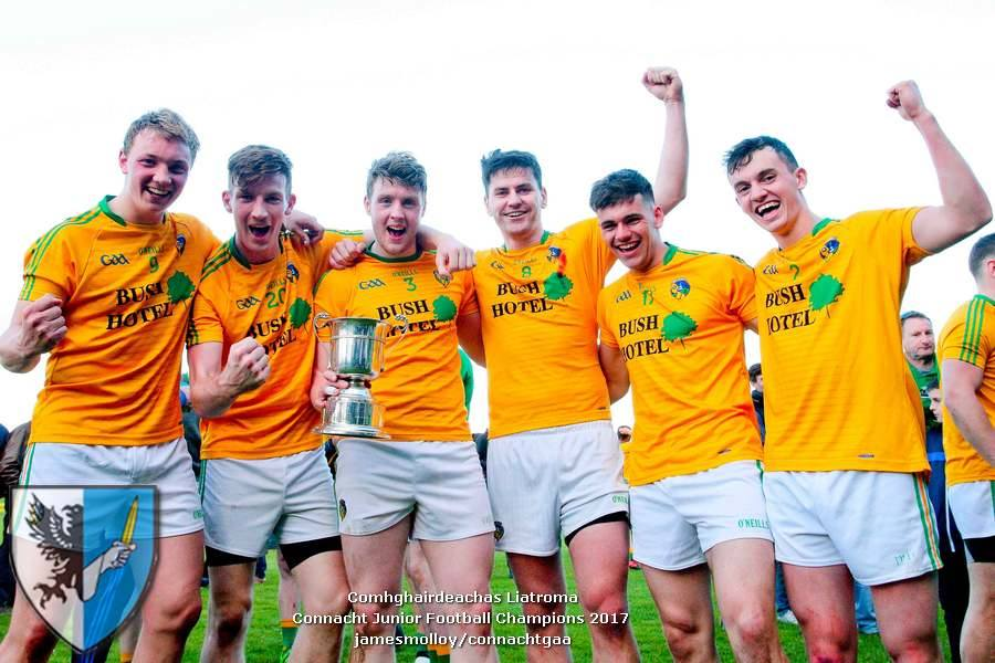 Congratulations to Leitrim Juniors - Connacht Championship 2017